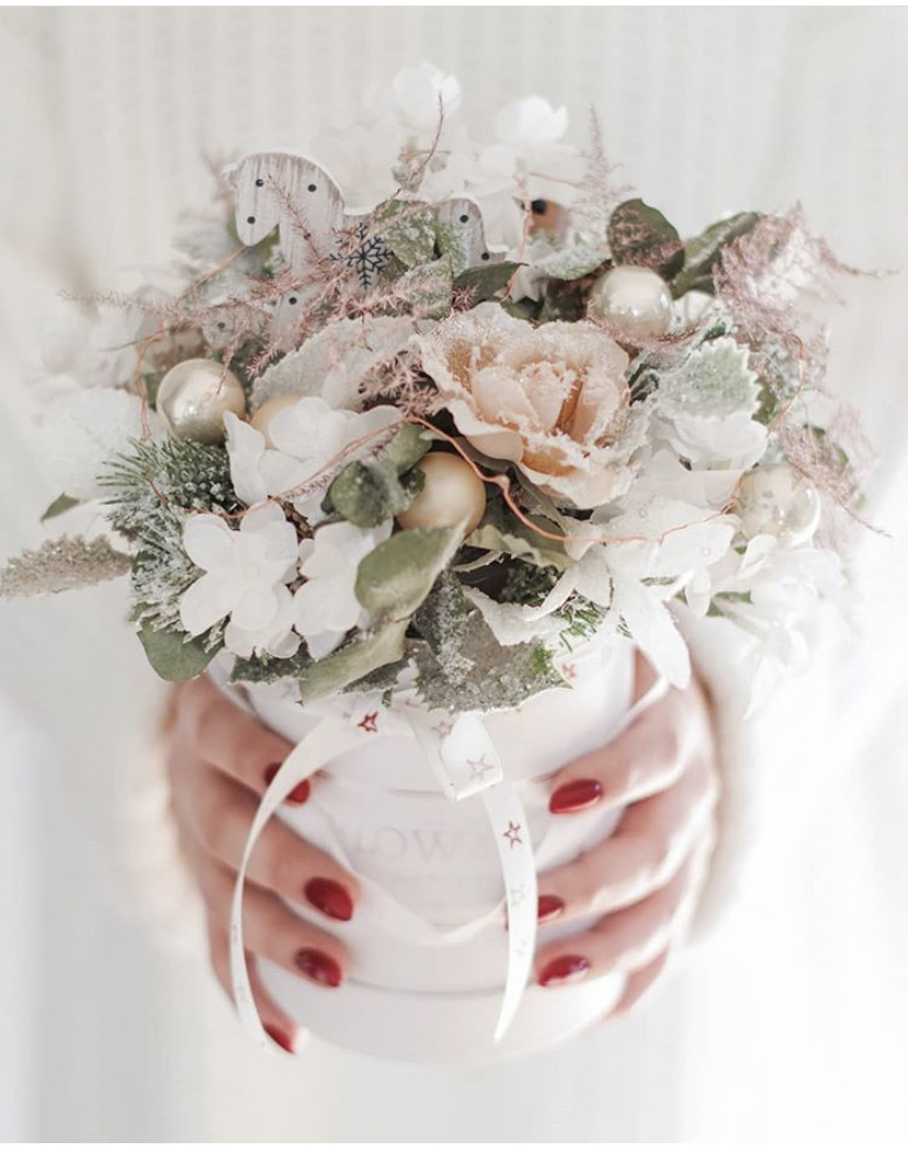 Květinové boxy z živých i stálých květin